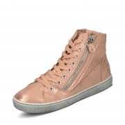 Lico Schnürbootie - Mädchen - roségold in Größe 33 jetzt im Angebot