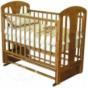 Можга (Красная Звезда) Детская кроватка Можга (Красная Звезда) Виталина С-851 аппликация Жираф поперечный маятник