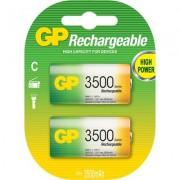 Акумулаторна Батерия GP NiMH R14 /C/ 350CHC 1.2V 3500 mAh 2 бр.в опаковка GP - GP-BR-R14-3500