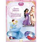 Jasmine, petitoarea. Cenusareasa si soriceii pierduti (carte cu CD audio)