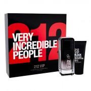 Carolina Herrera 212 VIP Men Black confezione regalo Eau de Parfum 100 ml + doccia gel 100 ml da uomo