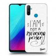 Átlátszó szilikon tok az alábbi mobiltelefonokra Realme C3 - I am not a morning person