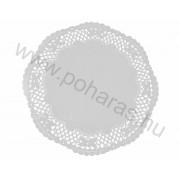 Kerek tortacsipke [26cm] (Fehér)