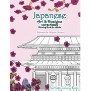 Japanese Art and Designs Color by Numbers Coloring Book for Adults: An Adult Color by Number Coloring Book Inspired by the Beautiful Culture of Japan, Paperback