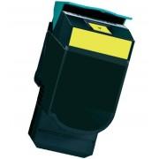 Lexmark Toner Compatível LEXMARK CX410 / CX510 Amarelo