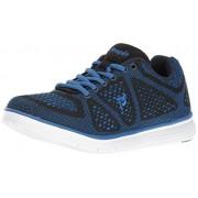 Propét Propet Zapatillas de Senderismo para Hombre, Negro/Azul, 8.5 XW US
