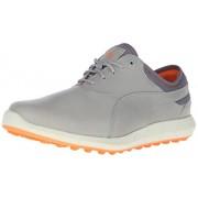 PUMA Men s Ignite Spikeless Golf Shoe Drizzle/Vibrant Orange 8.5 D(M) US