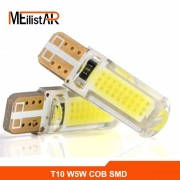 New T10 W5W LED car interior light cob marker lamp 12V 194 501 SMD bulb wedge parking light canbus auto lada car styling
