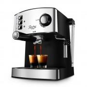 Еспресо машина за 1 или 2 кафета Zephyr ZP 1171 F, 850W, 15 бара, Крема диск, Разпенване, помпа ULKA, Инокс