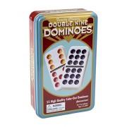 Double Nine Dominos ( Tin )