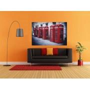 Tablou cabine telefonice rosii in Londra - cod W04