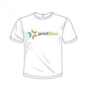 Printflow Compatível: Papel de Transferência para T-Shirt de cor clara A4 (120g 5 Folhas)