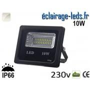 Projecteur LED extérieur 10w IP66 Blanc naturel 230V