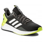 Обувки adidas - Questar Ride DB1345 Carbon/Ftwwht/Syello