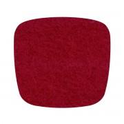 Hey Sign - Filz-Auflage Eames Plastic Armchair, rot 5 mm AR, mit Antirutsch-Beschichtung
