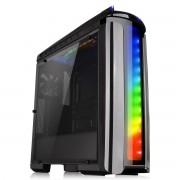 Carcasa Versa C22 RGB, MiddleTower, Fara sursa, Negru