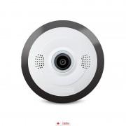 Camera IP Wireless Zenteko cu filmare 360° SMV350N + Card MicroSD 32GB