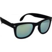 Hrinkar Wayfarer Sunglasses(Golden, Silver)