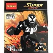 Abbros Venom Super Hero Spider Man Mini figure - Lego compatible Big Figure 7 cm High