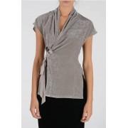 Rick Owens Top BIKER in Misto Seta taglia 44