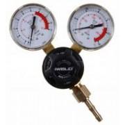 Iweld Mikyreg Széndioxid palack nyomáscsökkentő 230/22l/perc, 2 manométerrel
