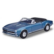 Motormax - 1/24 American Classics Die-Cast Collection 1967 Chevrolet Camaro SS Convertible (Blue)