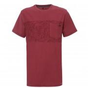 Polera Hombre Sunset T-Shirt Burdeo Lippi