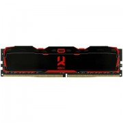 DDR4, 8GB, 2800MHz, GoodRam IRDM X, CL16, Black (IR-X2800D464L16S/8G)