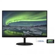 Monitor Philips 237E7QDSB, 23'', LED, FHD, IPS, DVI, HDMI, slim