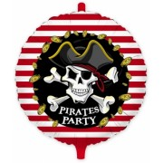 "Balon Mylar Rotund 45 cm Pirati (18"") Big Party"