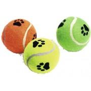 Jucarie pentru caini, minge tenis, culori asortate