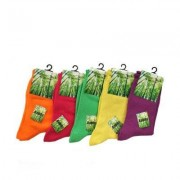 Damstrumpa 1-pack Bambu socks (Storlek & färg: Grön - 37-39)