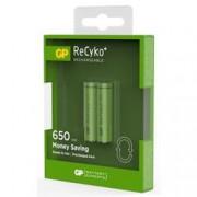 Gp Batteries Blister 2 Batterie Ricaricabili AAA Mini Stilo GP ReCyko