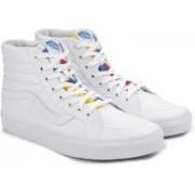 Vans SK8-HI REISSUE High Ankle Sneakers For Men(White)