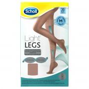 Reckitt Benckiser Scholl Light Legs Collant velate 20 denari compressione media colore nude taglia M