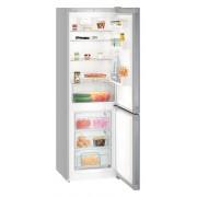 Combina frigorifica Liebherr CPel 4313, 308 L, SmartFrost, Display, Control taste, Sertar legume, Alarma usa frigider, H 186.1 cm, A+++, Argintiu