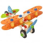 Constructor Biplane 85 Piese
