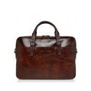 Castelijn & Beerens-Laptoptassen-Laptop Bag 15.6 Inch-Bruin