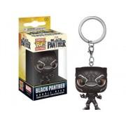 MARVEL Llavero FUNKO POP! Black Panther: Black Panther