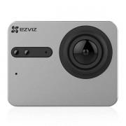 Ezviz S5 Action Kamera wasserdicht 4K UHD 16MP 158° Weitwinkel 2 Touch-Display Grau