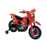 Motocicleta electrica Enduro Motocross 6V rosie