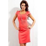 Sukienka 131 (koralowy)