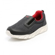 Unistar Grey & Red Extra Cushioned Slip on Sport Shoes - Training Shoes - Walking Shoes