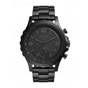メンズ FOSSIL Q Q NATE Hybrid Smartwatch スマートウォッチ ブラック
