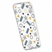 Husa Silicon Transparent Slim Star 138 Apple iPhone 6 PLUS 6S PLUS