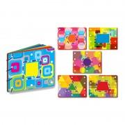 Carduri pentru snuruit Forme Learning Kitds, 6 cartonase, 13 snururi