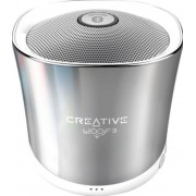 Boxa Portabila Creative Woof 3 Winter, Bluetooth (Argintiu)