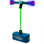 Flybar My First Foam Pogo Jumper With Flashing LED Lights & Pogo Counter Safe Pogo Hopper For Kids Ages 3 & Up (Blue LED)