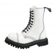 stivali in pelle unisex - STEADY´S - STE/10_white