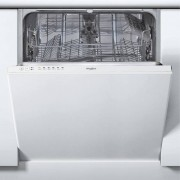 Whirlpool WIE2B19 Fully Integrated Standard Dishwasher - White Control Panel with Fixed Door Fixing Kit - A+ Rated